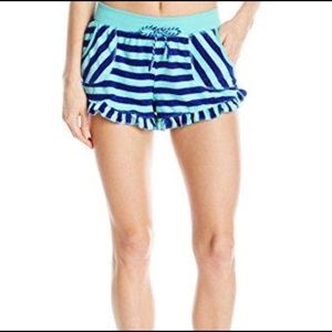 "Betsey Johnson """"Vintage Terry"" pajamas shorts"